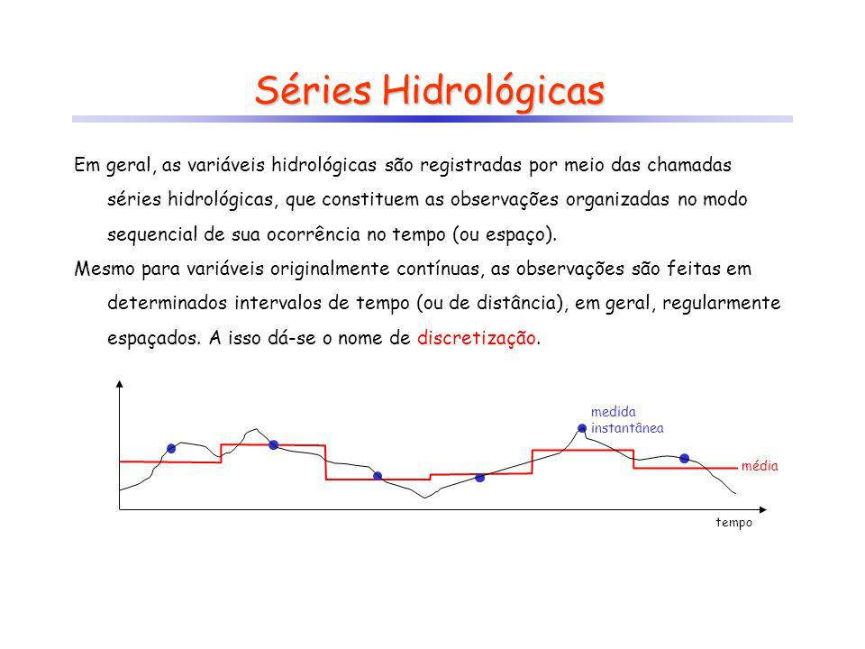 Séries Hidrológicas
