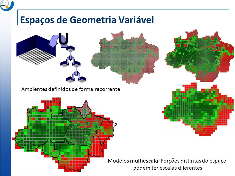 Espaços de Geometria Variável