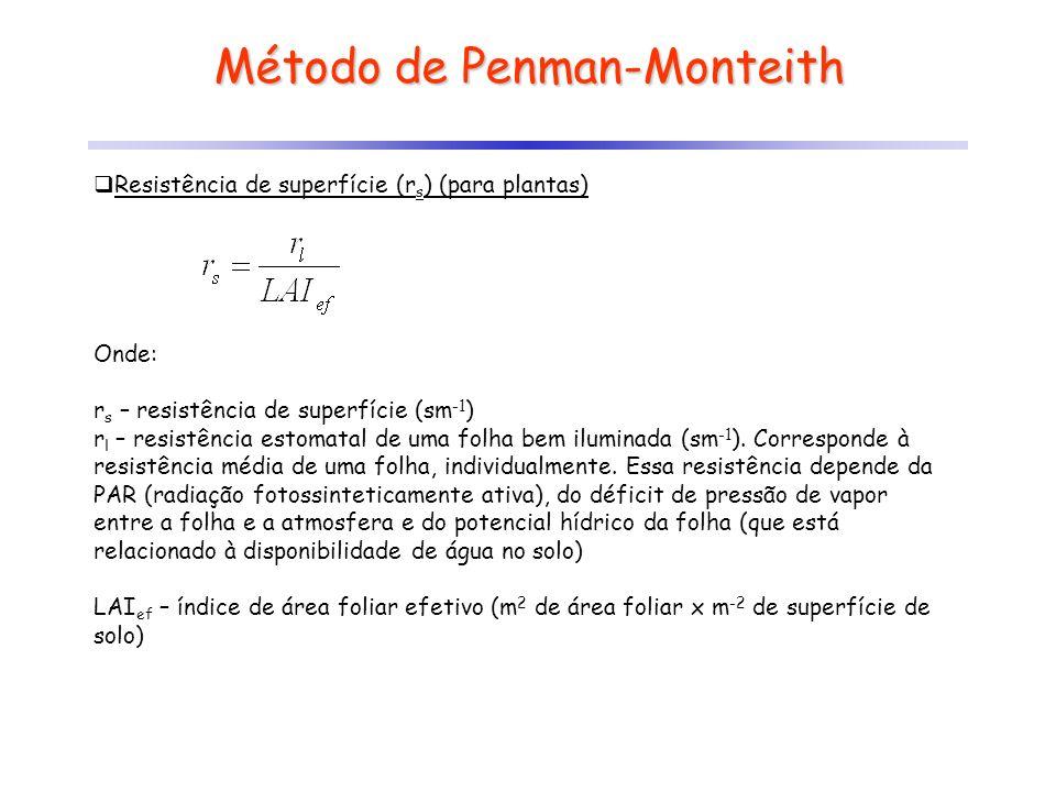 Método de Penman-Monteith