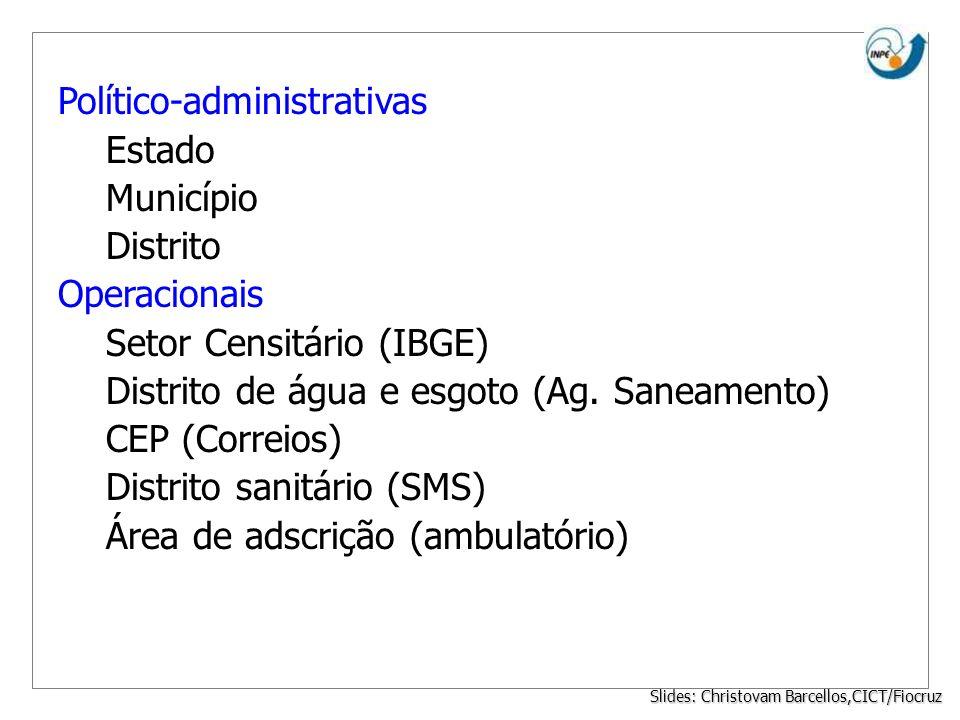 Slides: Christovam Barcellos,CICT/Fiocruz