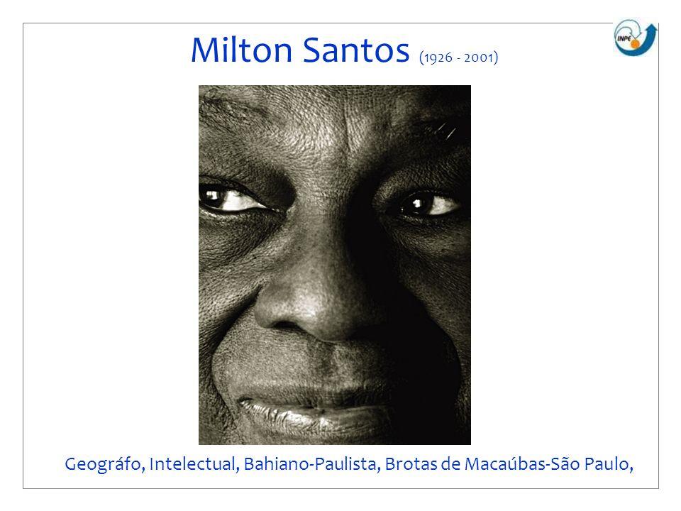 Geográfo, Intelectual, Bahiano-Paulista, Brotas de Macaúbas-São Paulo,