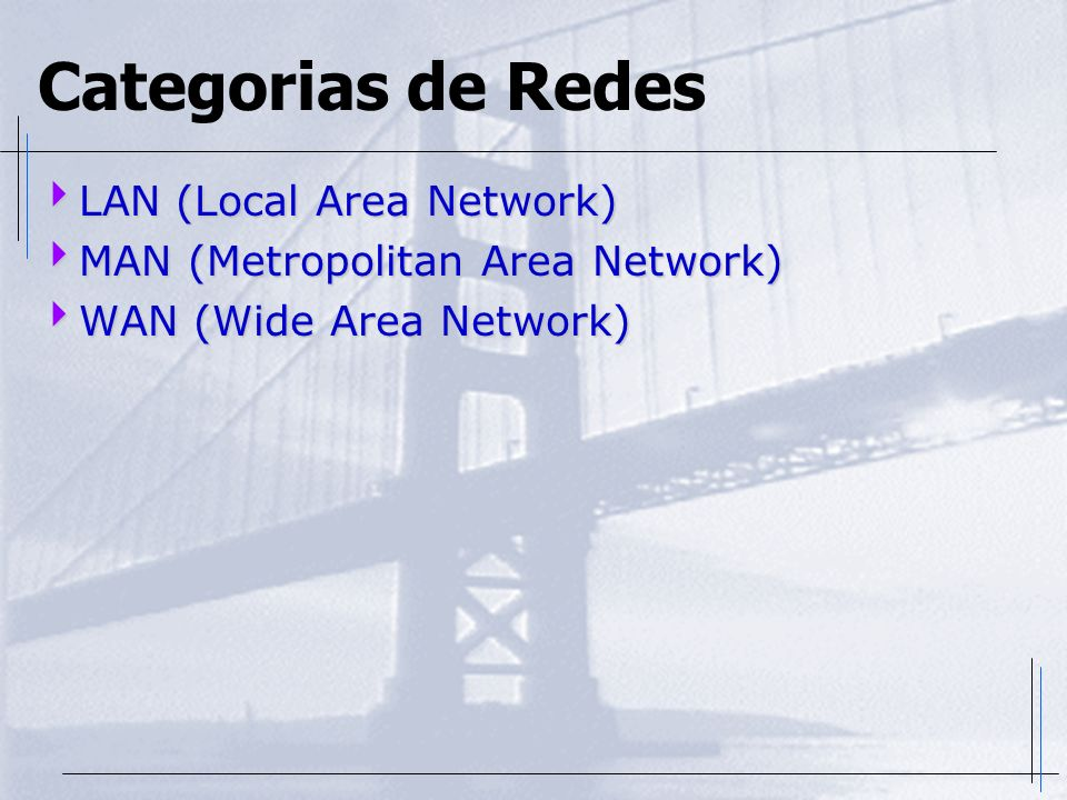 Categorias de Redes LAN (Local Area Network)