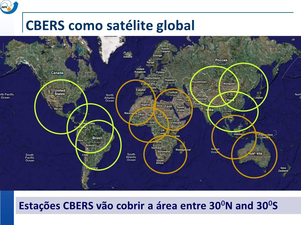 CBERS como satélite global