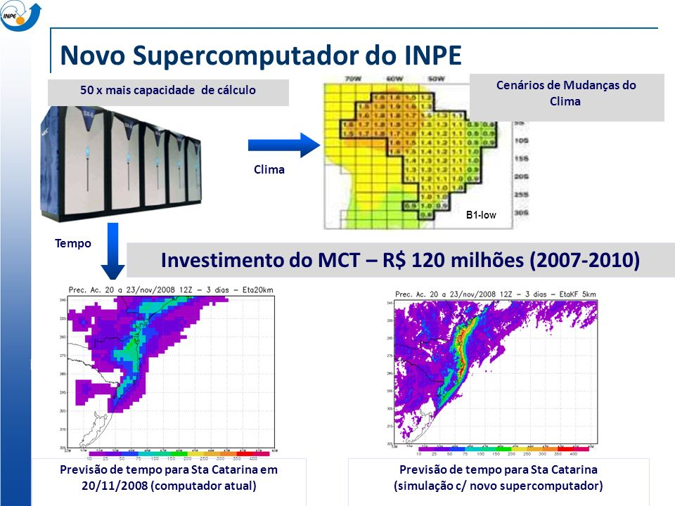 Novo Supercomputador do INPE