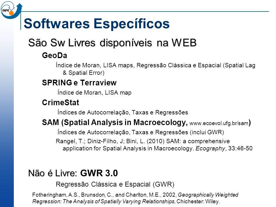 Softwares Específicos
