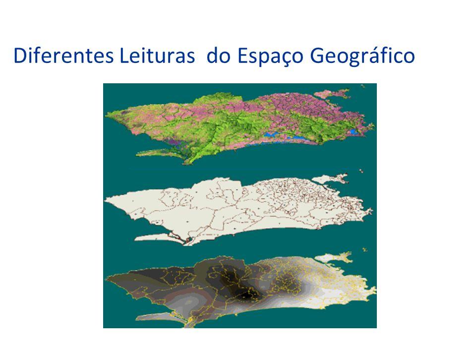 Diferentes Leituras do Espaço Geográfico
