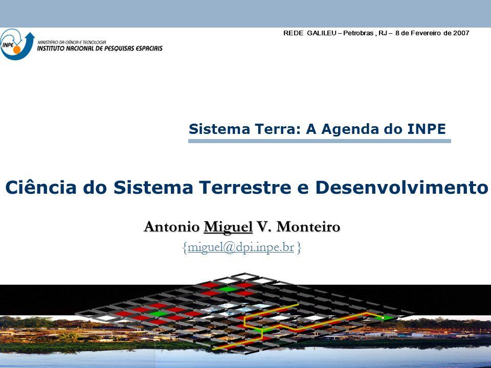 Ciência do Sistema Terrestre e Desenvolvimento