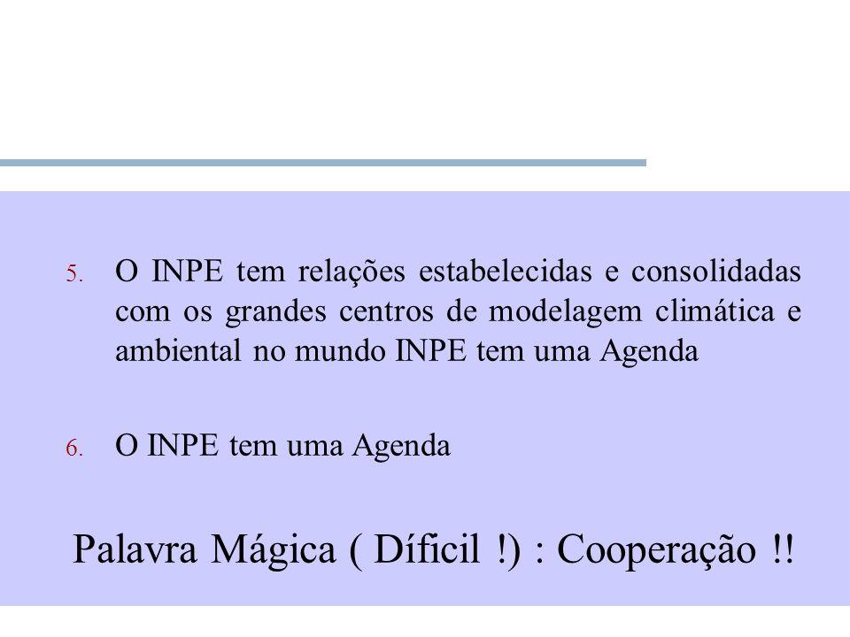Palavra Mágica ( Díficil !) : Cooperação !!