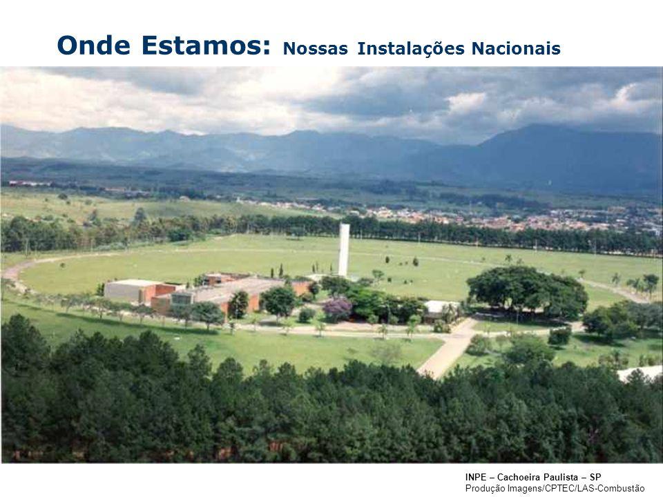 Onde Estamos: Nossas Instalações Nacionais
