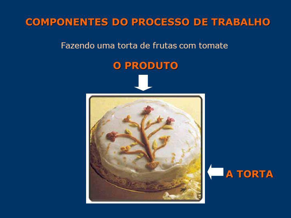 COMPONENTES DO PROCESSO DE TRABALHO