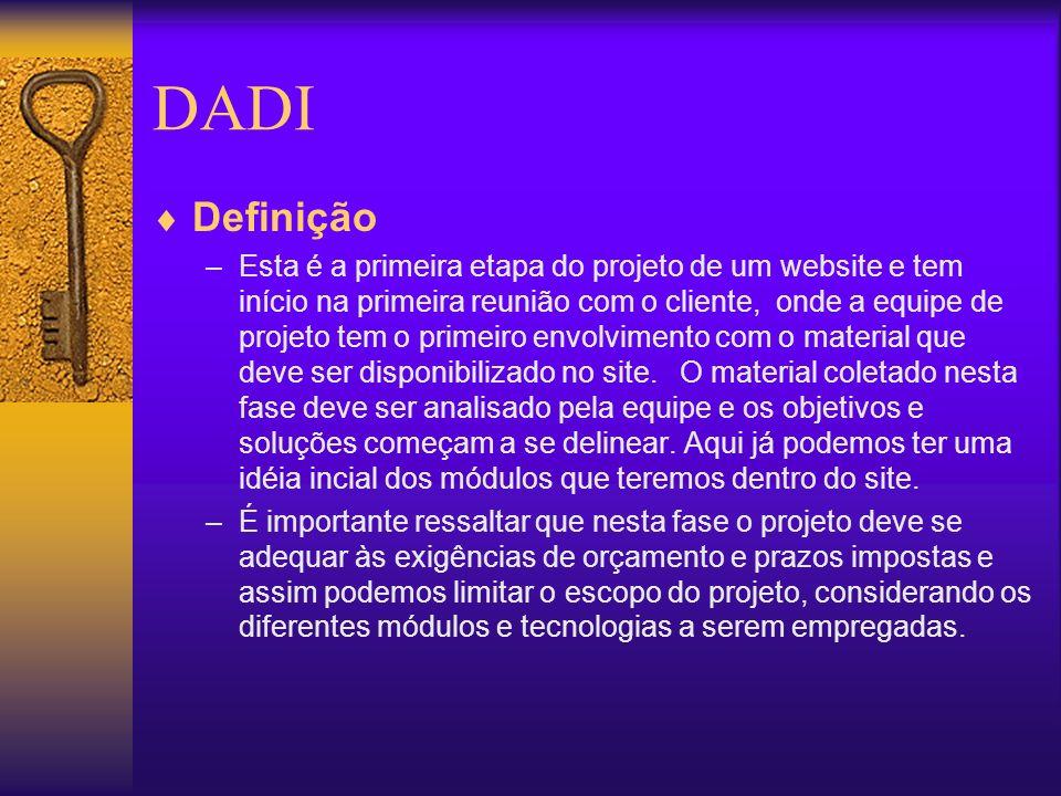DADI Definição.