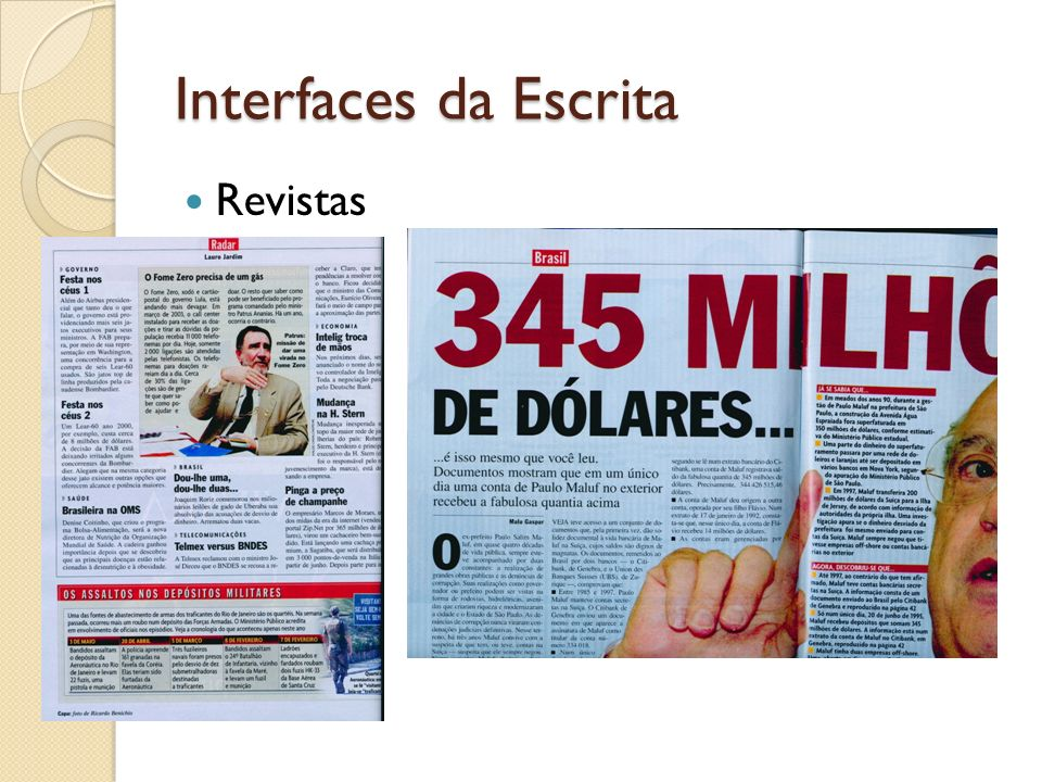 Interfaces da Escrita Revistas