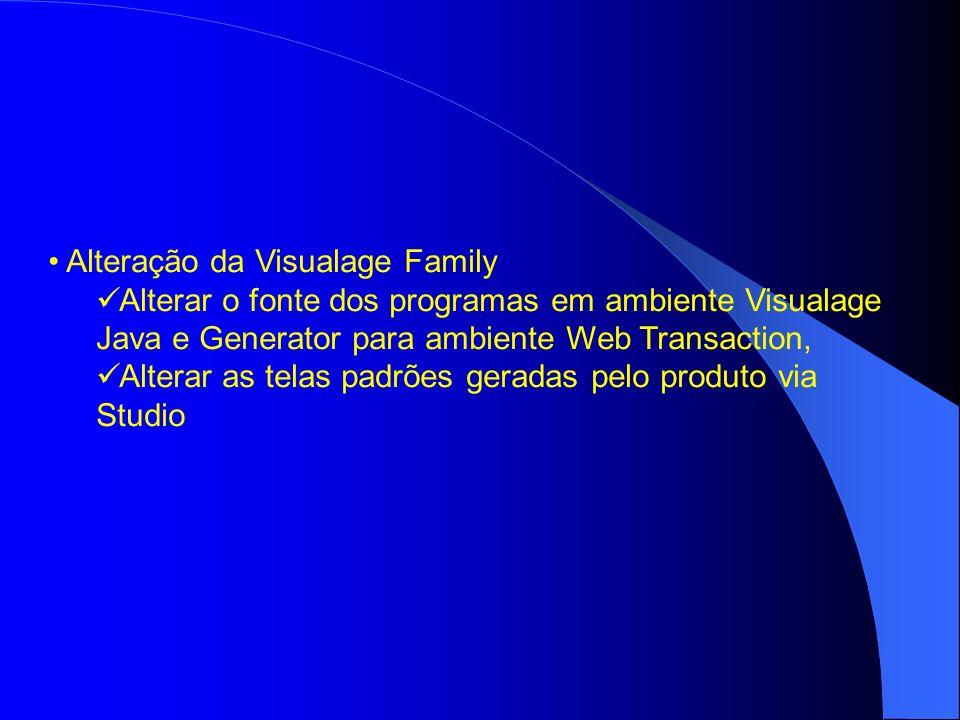 Alteração da Visualage Family