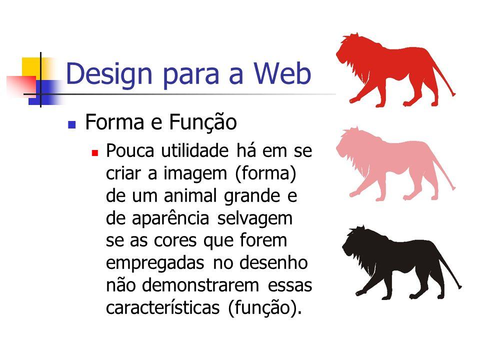 Design para a Web Forma e Função