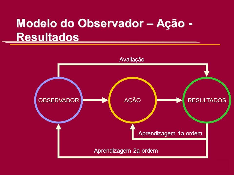 Modelo do Observador – Ação - Resultados