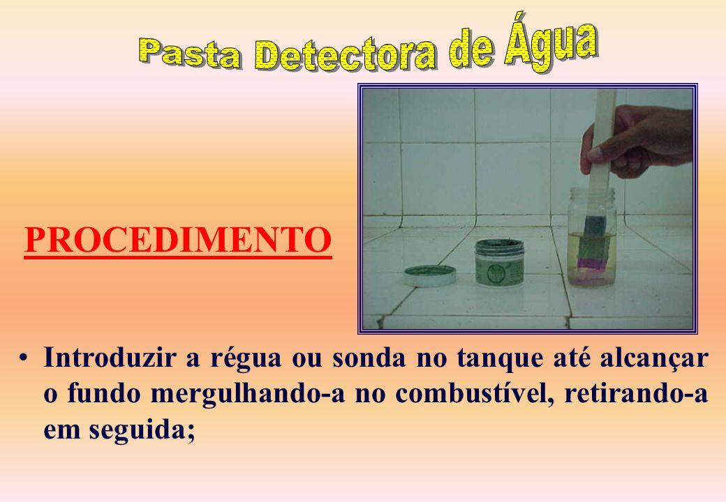 Pasta Detectora de Água