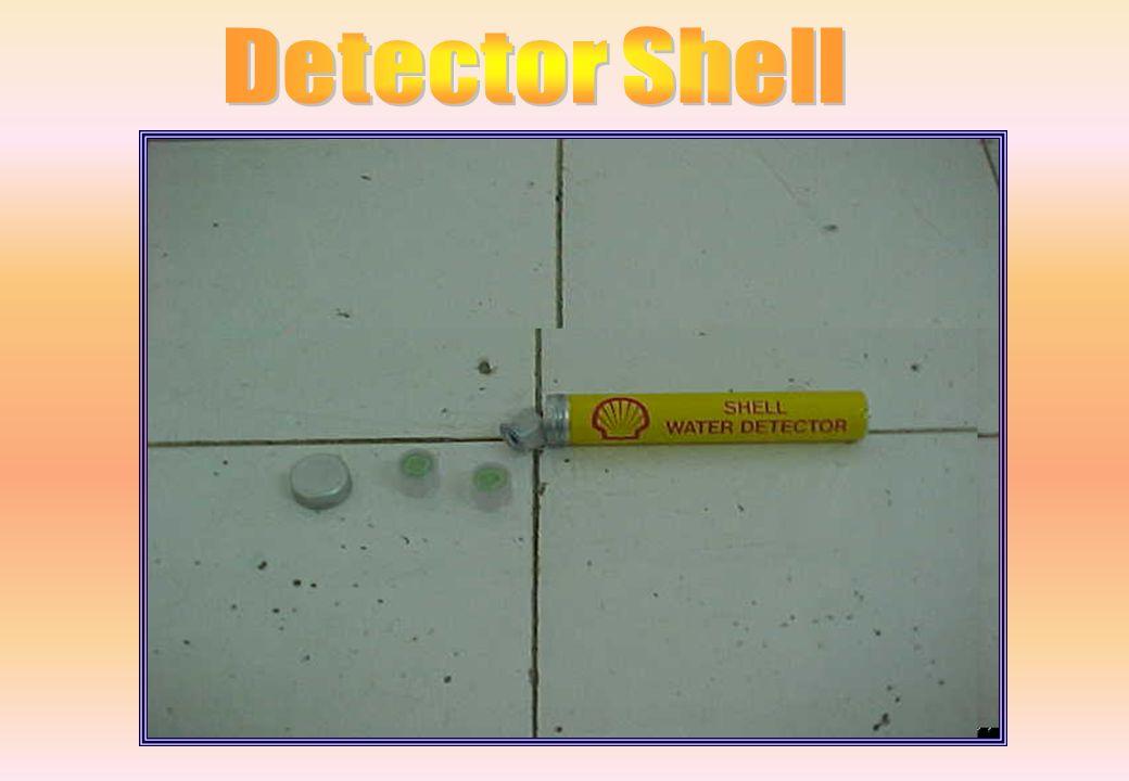 Utilizado para detecção de água em suspensão no QAV-1