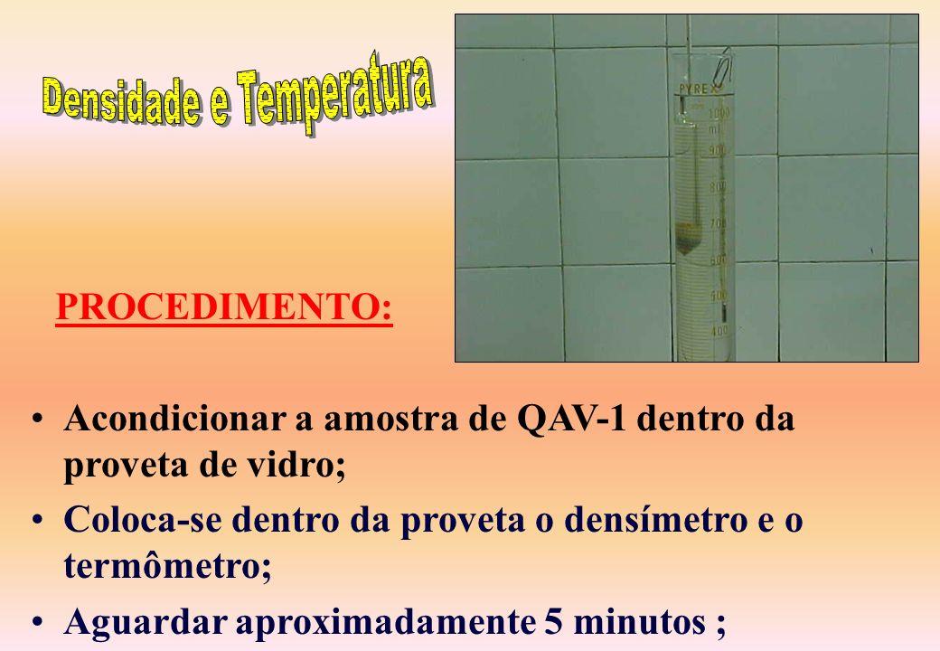 Densidade e Temperatura