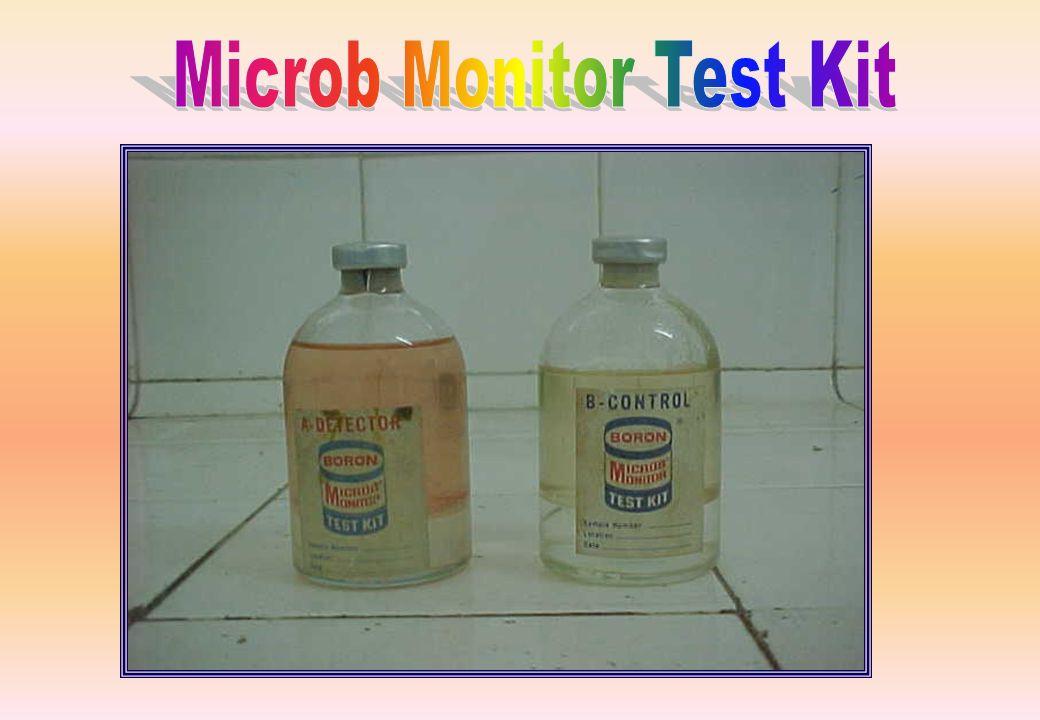 Utilizado para detecção de microorganismos no QAV-1