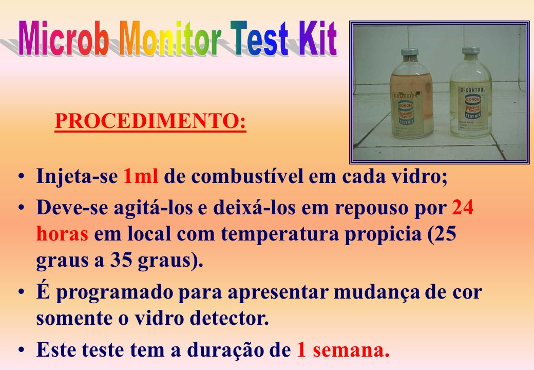 Microb Monitor Test Kit
