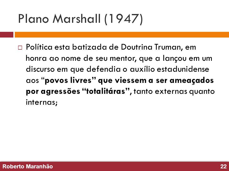 Plano Marshall (1947)