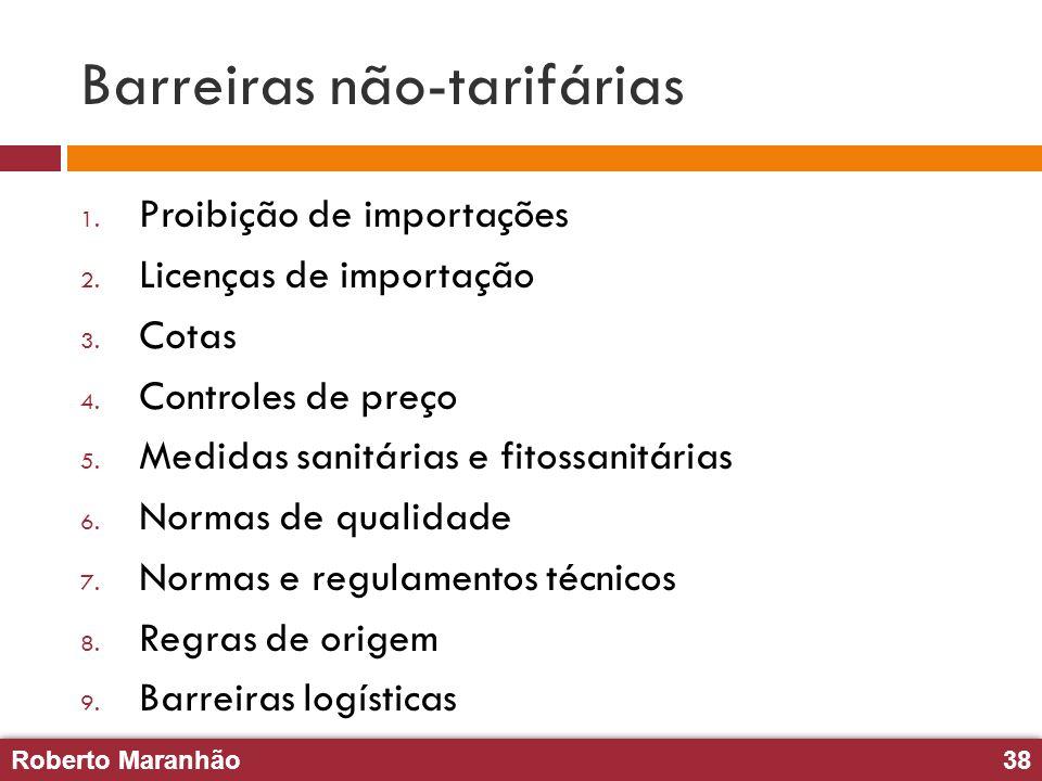 Barreiras não-tarifárias