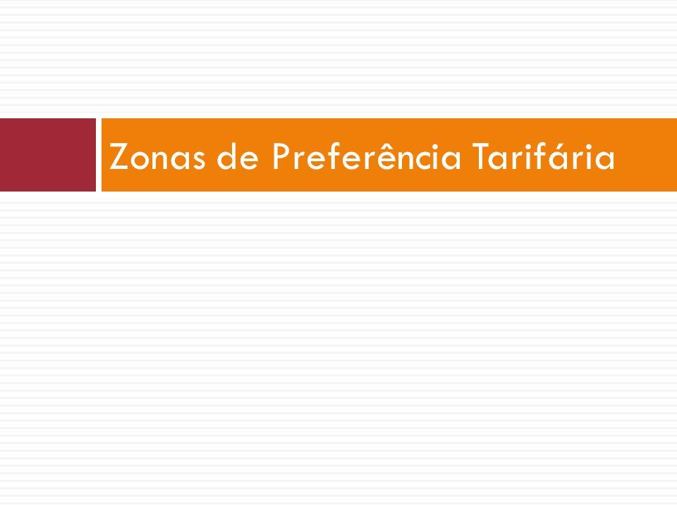 Zonas de Preferência Tarifária