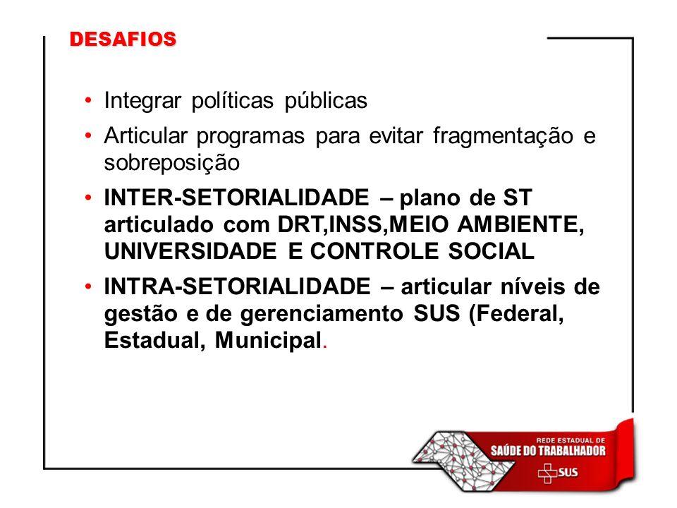Integrar políticas públicas