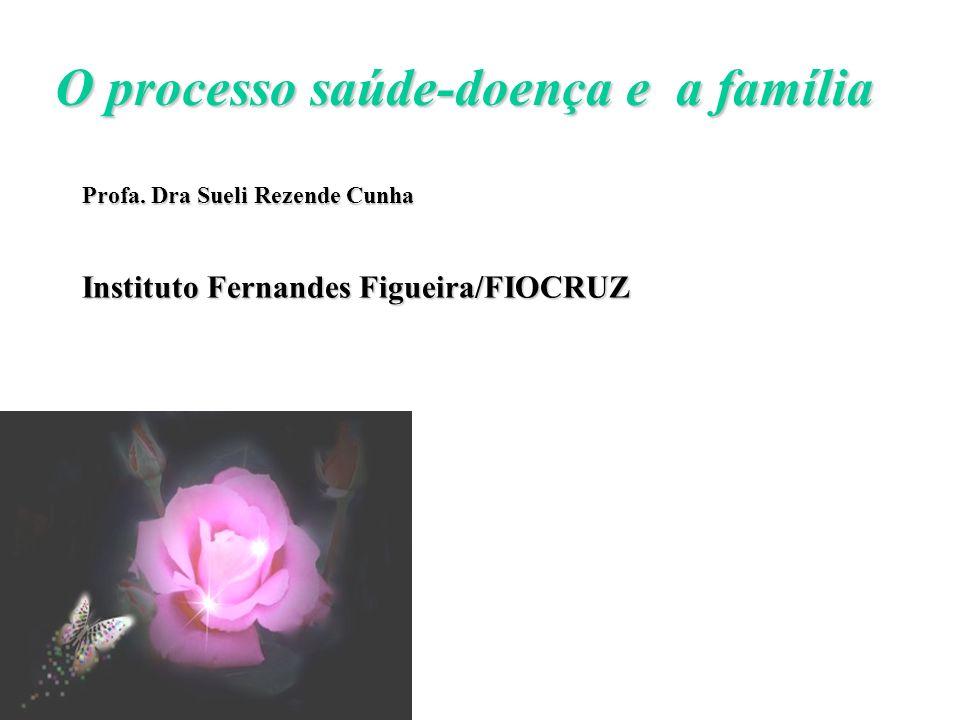O processo saúde-doença e a família
