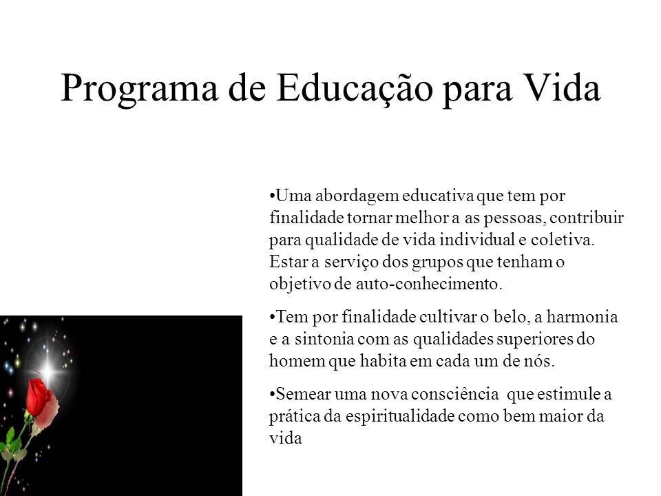 Programa de Educação para Vida