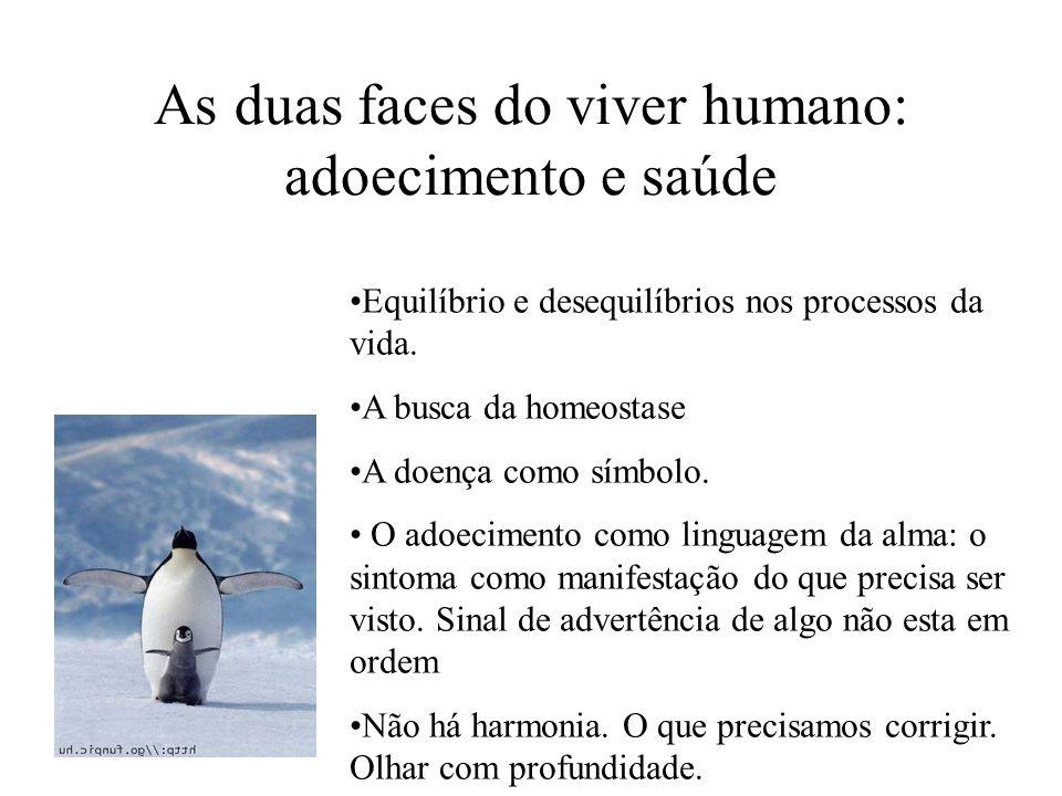 As duas faces do viver humano: adoecimento e saúde
