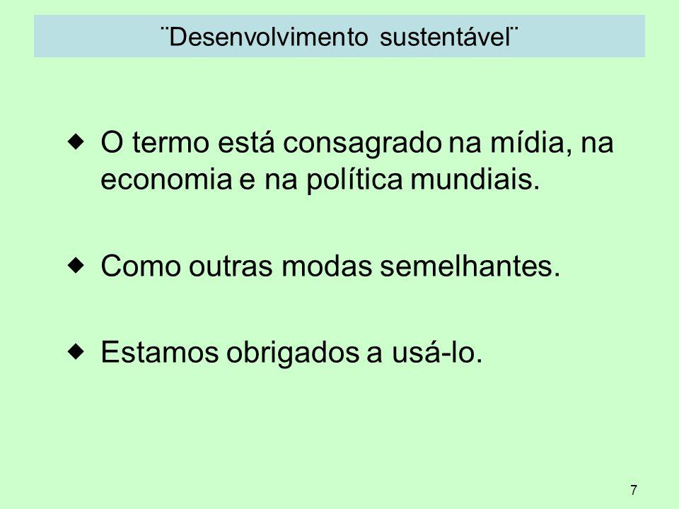 ¨Desenvolvimento sustentável¨