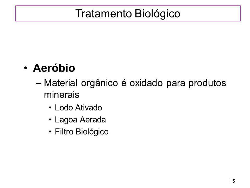 Tratamento Biológico Aeróbio