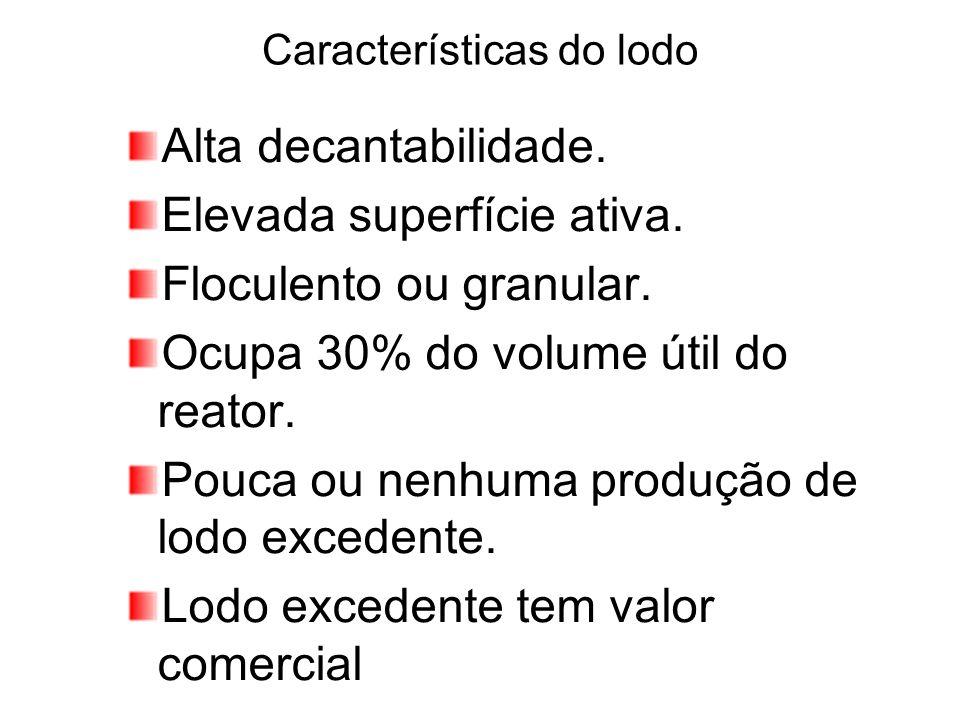 Características do lodo