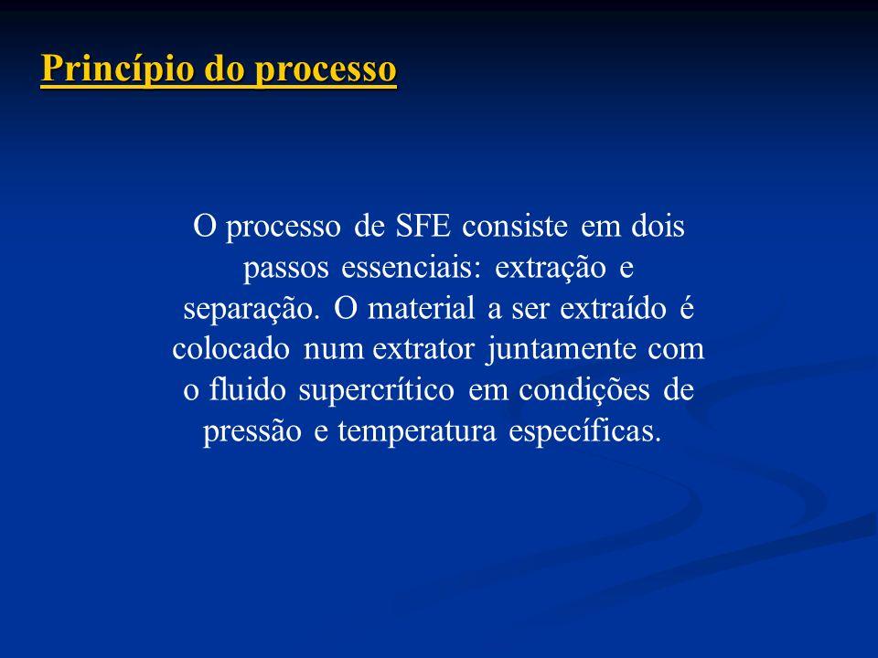 Princípio do processo O processo de SFE consiste em dois