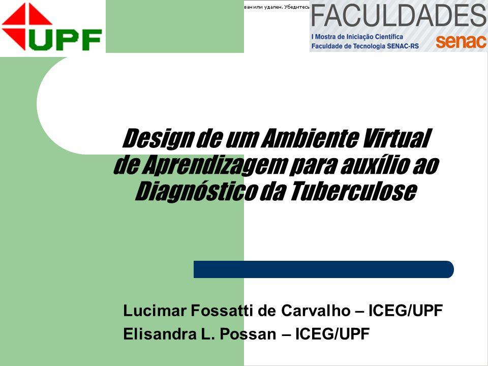 Lucimar Fossatti de Carvalho – ICEG/UPF Elisandra L. Possan – ICEG/UPF