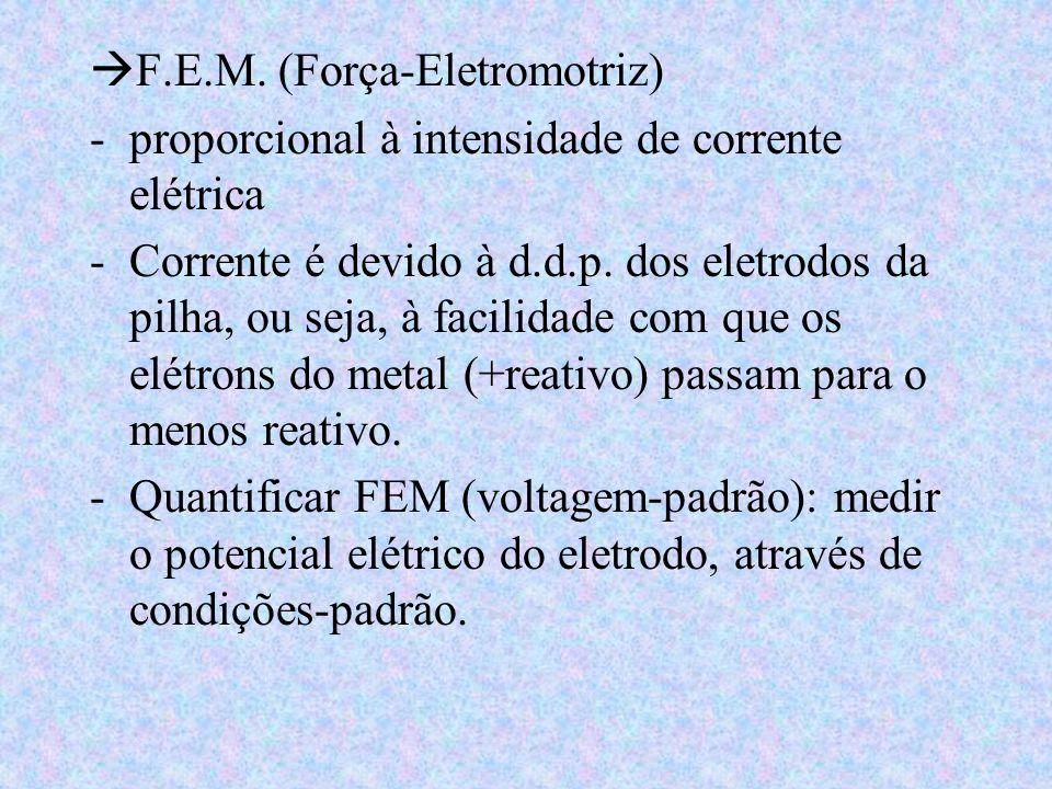 F.E.M. (Força-Eletromotriz)