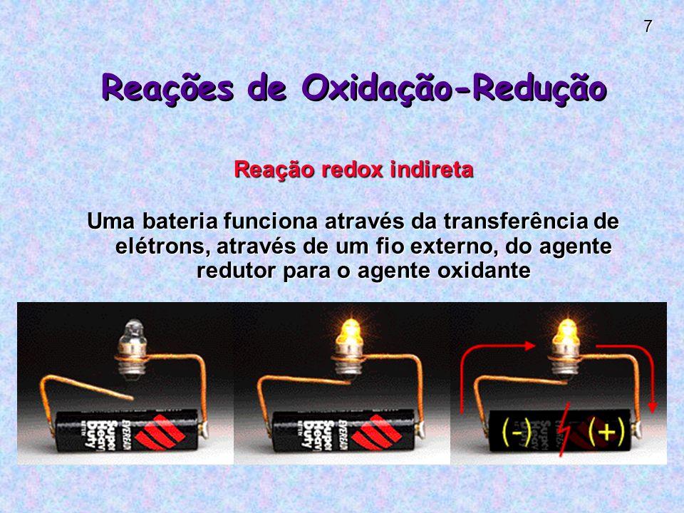 Reações de Oxidação-Redução