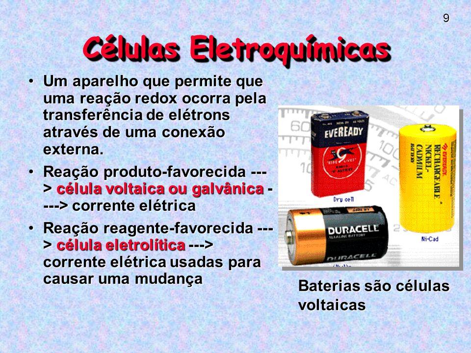 Células Eletroquímicas