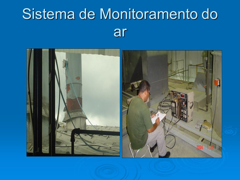 Sistema de Monitoramento do ar