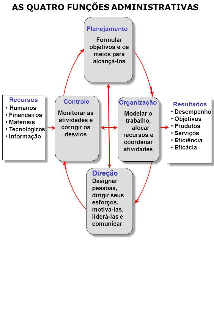 Formular objetivos e os meios para Monitorar as atividades e
