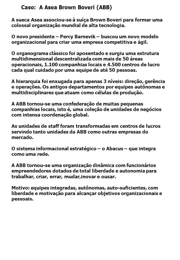 Caso: A Asea Brown Boveri (ABB)