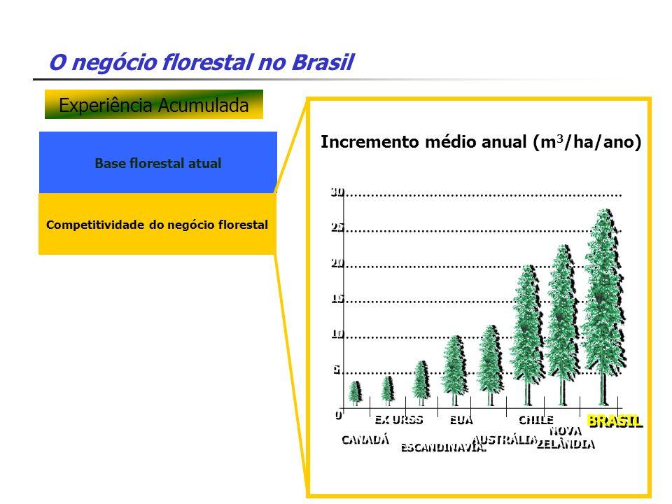 Competitividade do negócio florestal