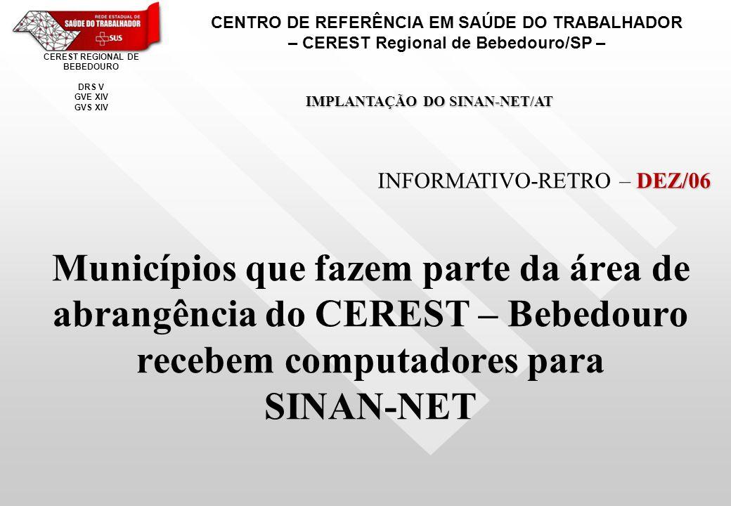 CENTRO DE REFERÊNCIA EM SAÚDE DO TRABALHADOR