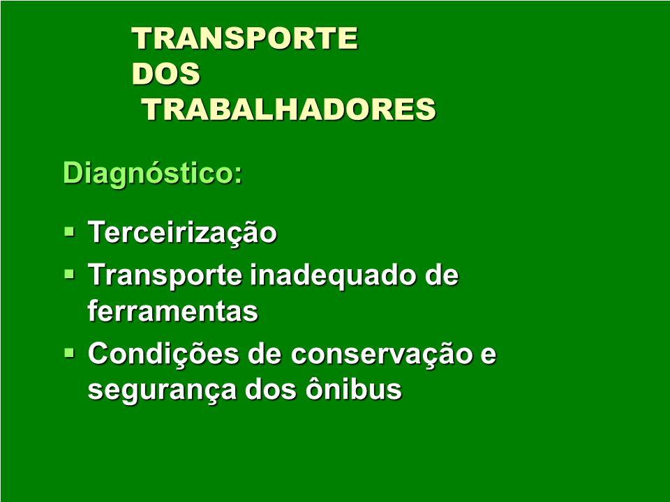 TRANSPORTE DOS TRABALHADORES