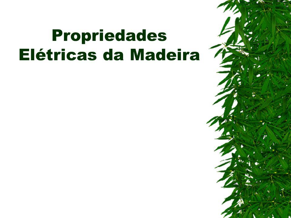 Propriedades Elétricas da Madeira