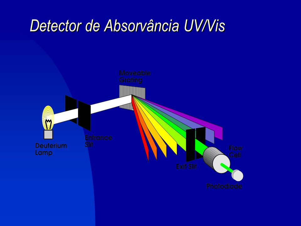 Detector de Absorvância UV/Vis