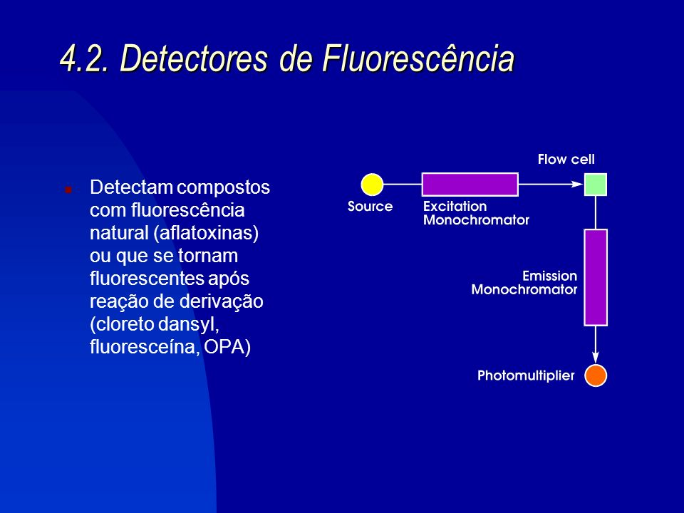 4.2. Detectores de Fluorescência