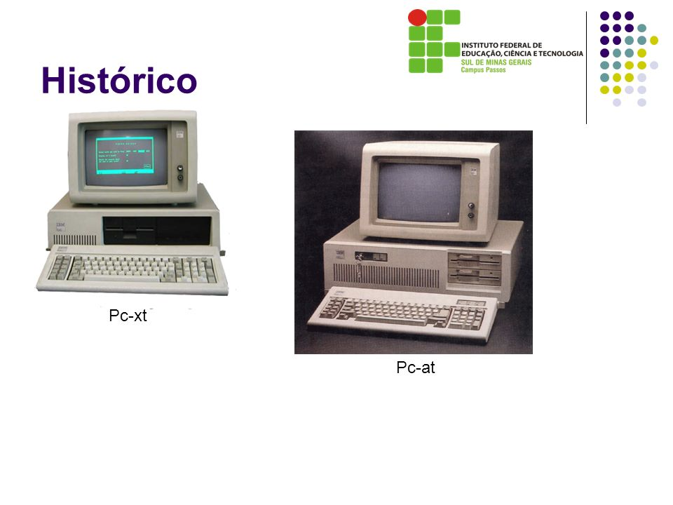 Histórico Pc-xt Pc-at