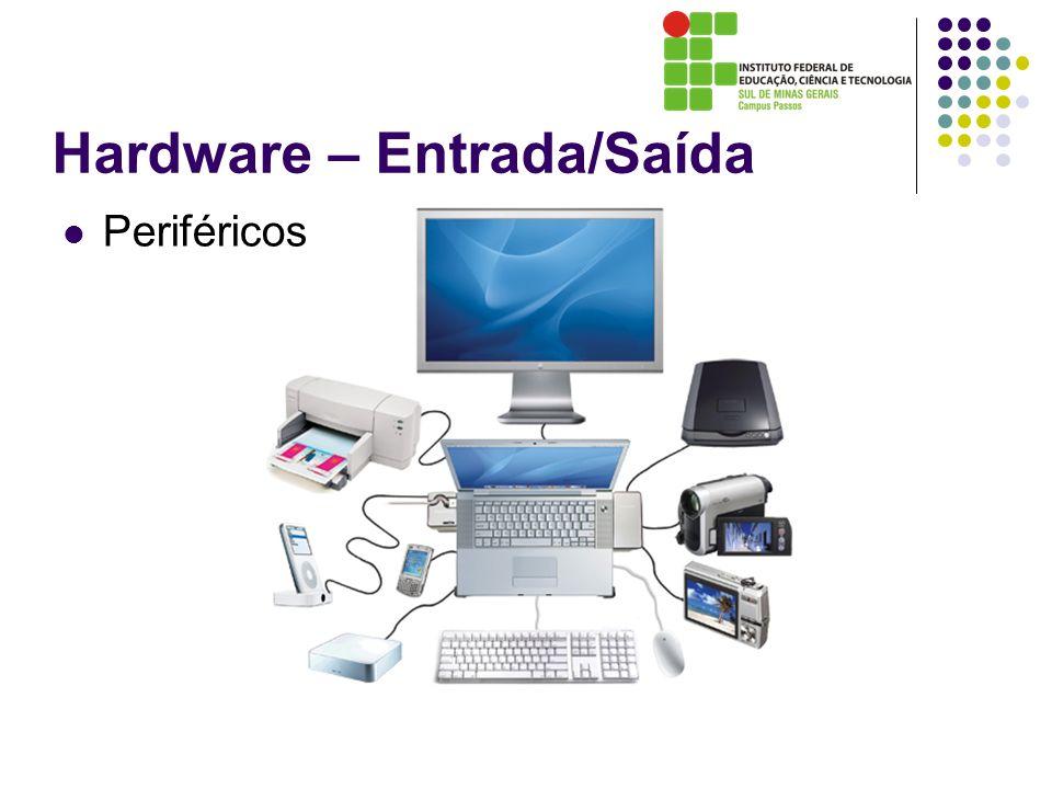 Hardware – Entrada/Saída